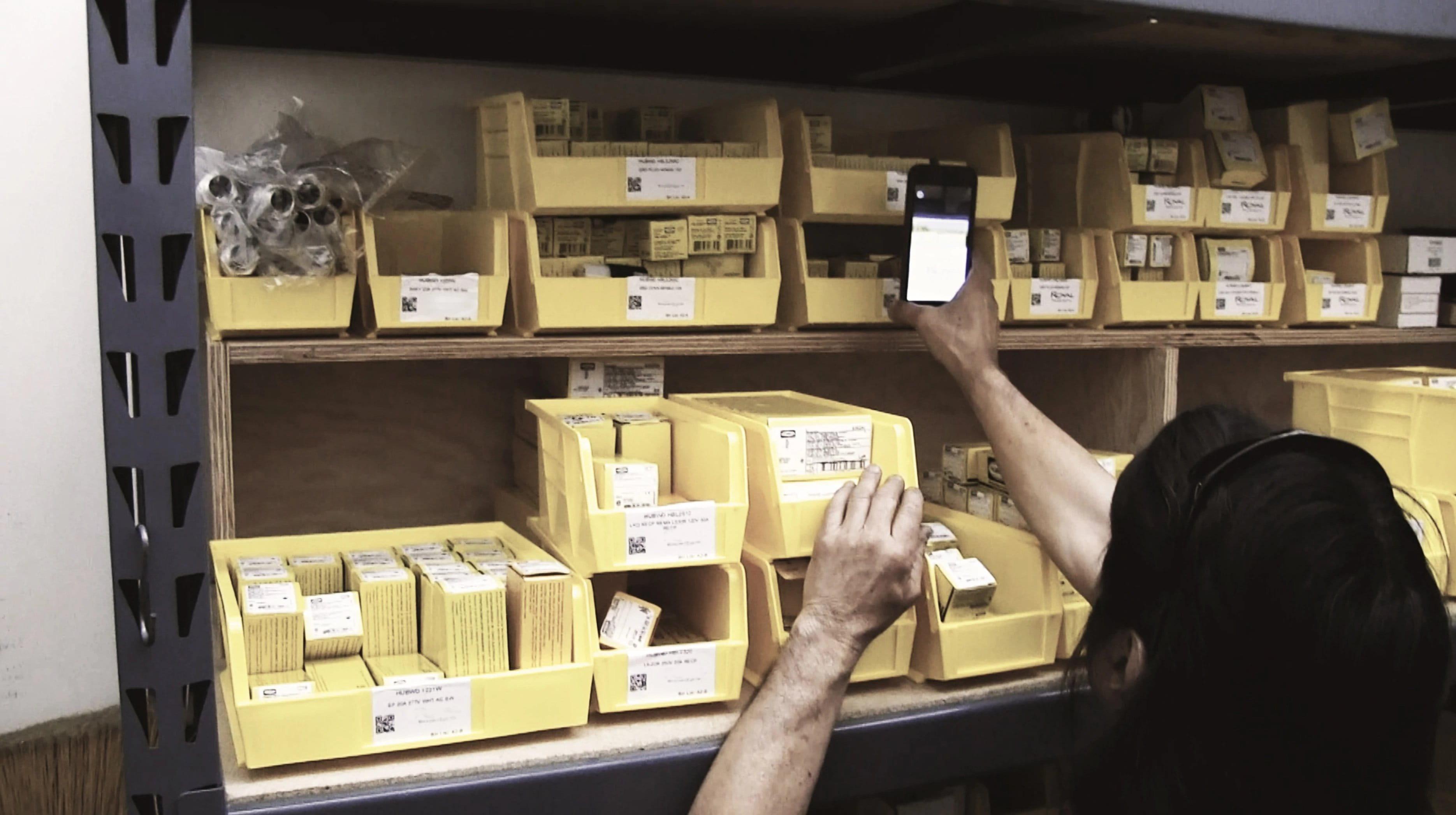 Asset Management Storeroom scanning